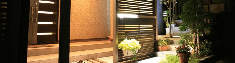 東近江市の造園・外構工事・留守宅管理なら花久造園へ 着工です