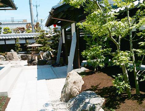 東近江市の造園・外構工事・留守宅管理なら花久造園へ 造園