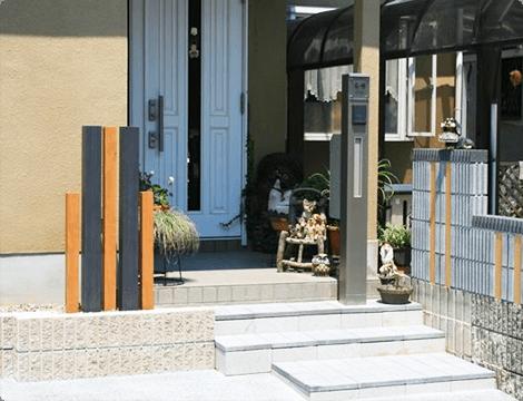 東近江市の造園・外構工事・留守宅管理なら花久造園へ エクステリア・カーポート