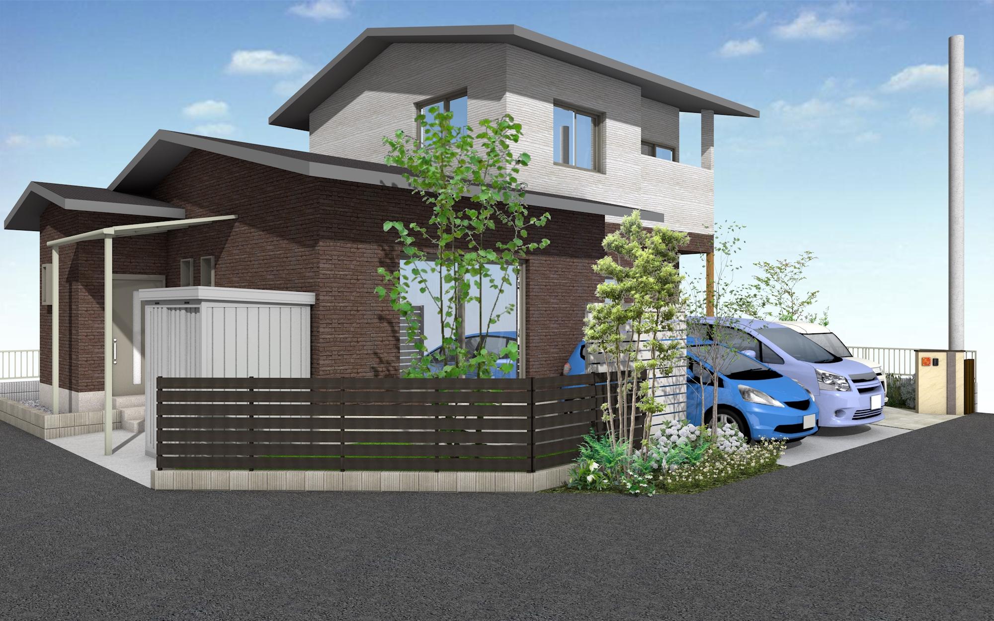 東近江市の造園・外構工事・留守宅管理なら花久造園へ 外構・植栽工事